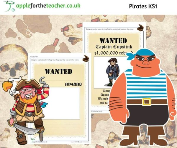 pirates wanted poster