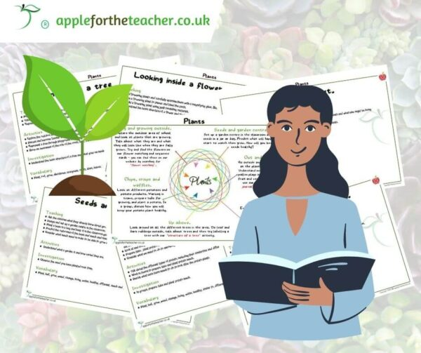 plants year 1 planning and activity ideas