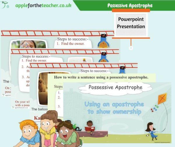 possessive apostrophe Powerpoint Presentation