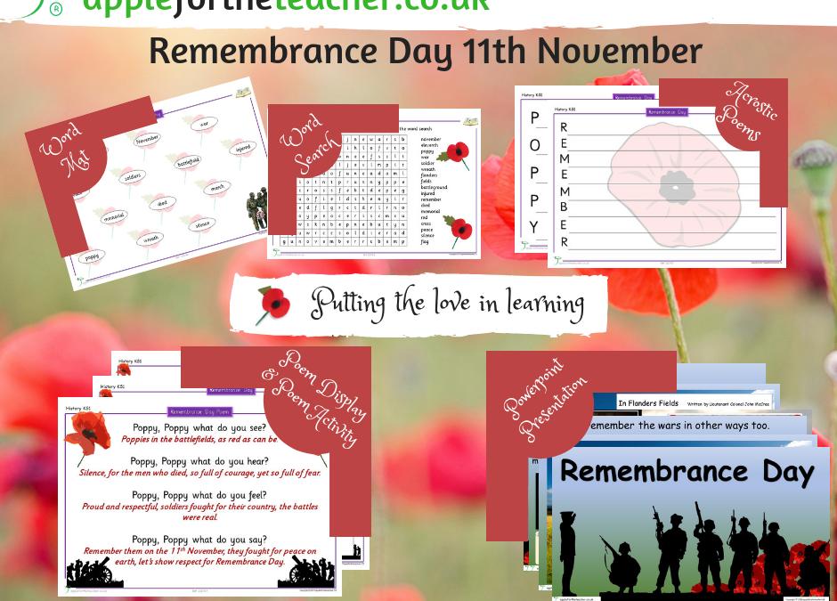 Remembrance Day Activities Bundle