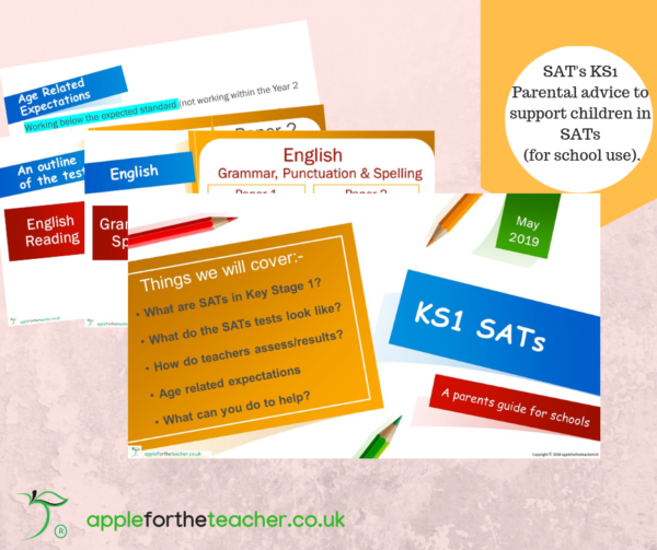 KS1 SATs Parent Advice Powerpoint