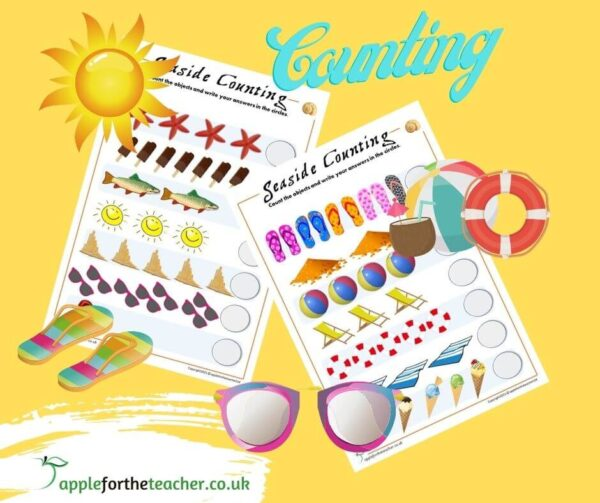 seaside counting activity