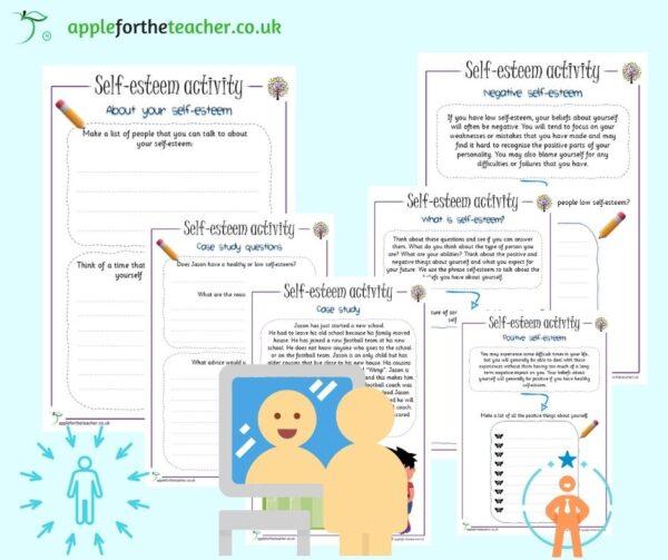 self esteem activity KS2