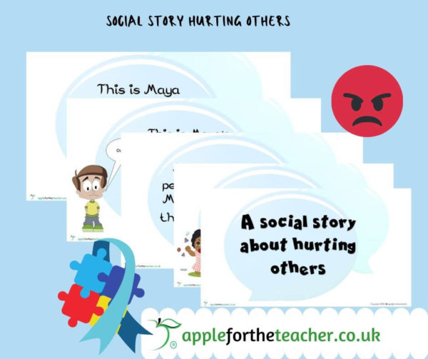 social story hurting others