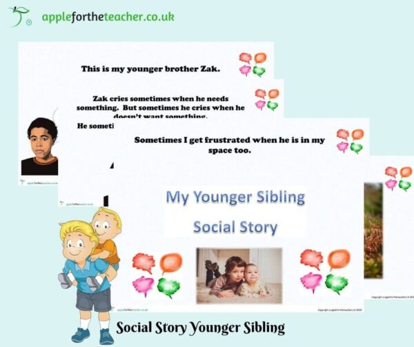 social story younger sibling