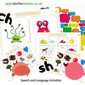 sound aliens speech and language activity sh and ch
