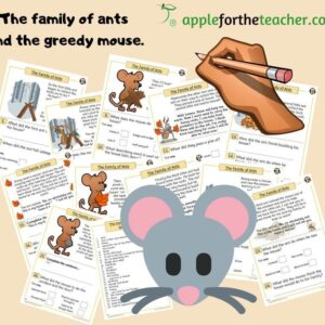 the family of ants story comprehension KS1