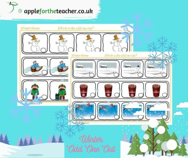 winter odd one out EYFS
