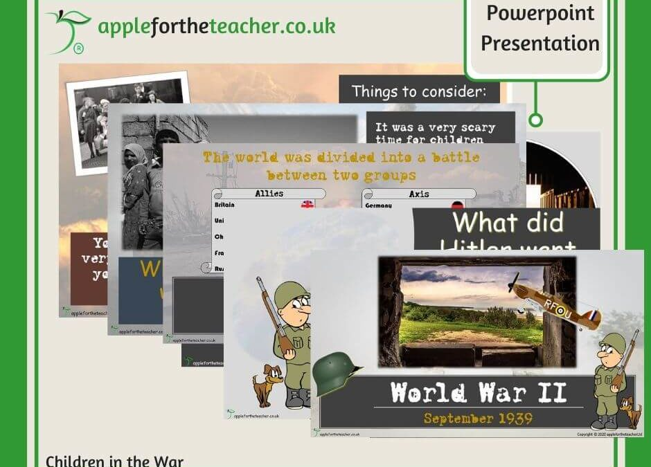 Children In World War II History Powerpoint Presentation