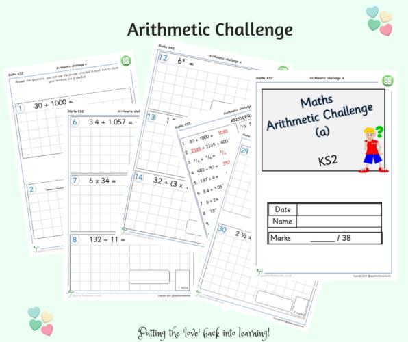 Arithmetic Challenge A Maths KS2