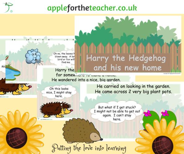 Habitats Hedgehog Powerpoint