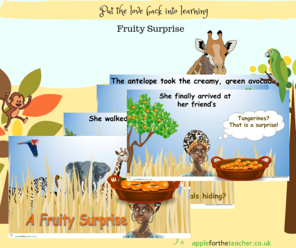 Fruity Surprise Powerpoint African Animated Story