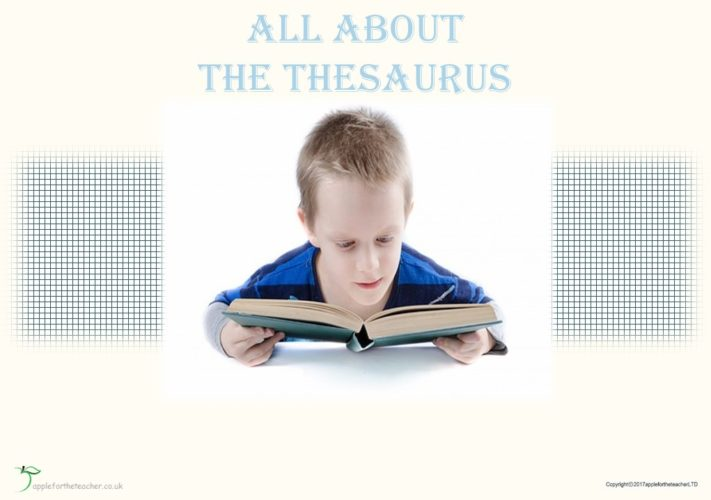All About The Thesaurus Powerpoint Presentation | Apple For
