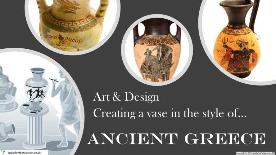 Design Create Ancient Greek Pottery Powerpoint Presentation | Apple