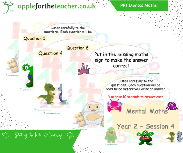 Mental Maths PPT Session 4 Arithmetic