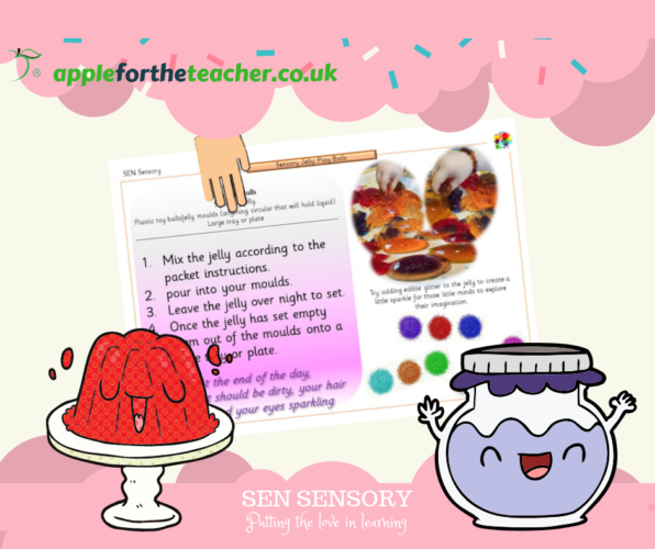 SEN Sensory Jelly Play Balls