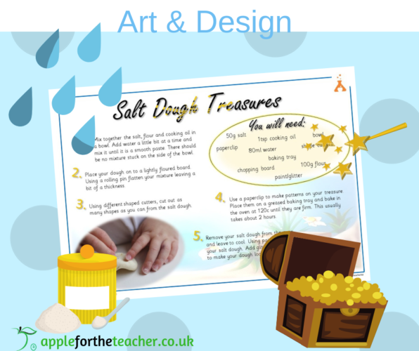 Salt Dough Treasure Activity