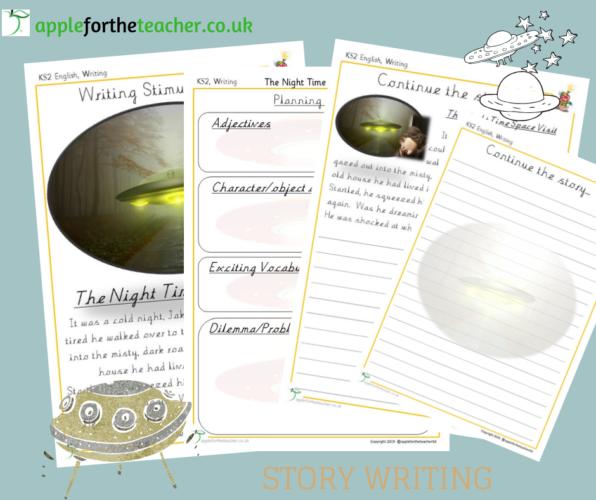 Story Writing Activity KS2 Space Visit