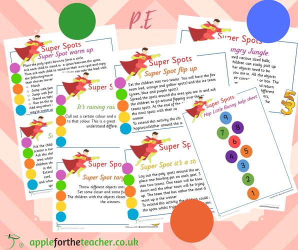 Super Spot PE Activity Cards SEN