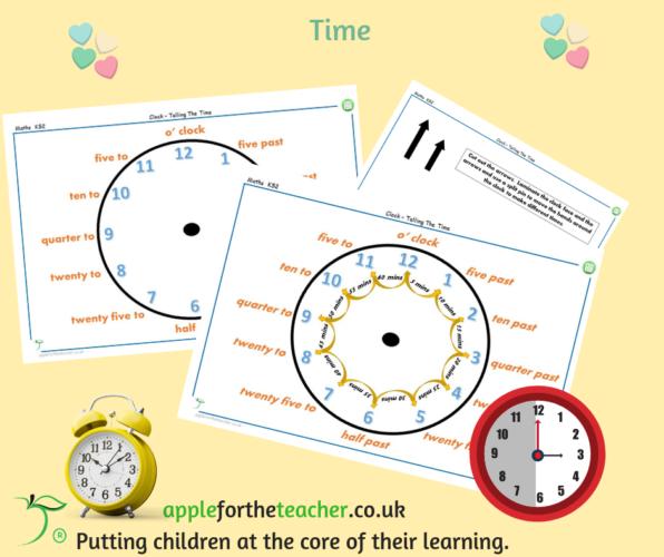 Time Analogue Clock Activity