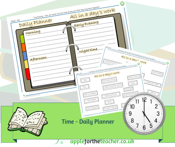 Time Daily Planner Sorting