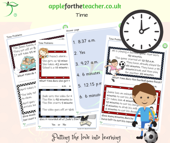 Time Problems Lower KS2
