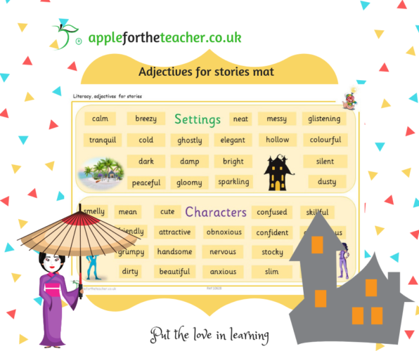 Adjectives For Stories KS2