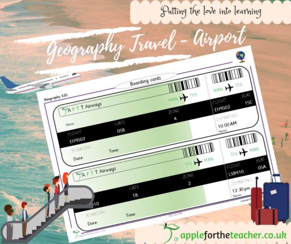 Boarding Pass Passport To The World