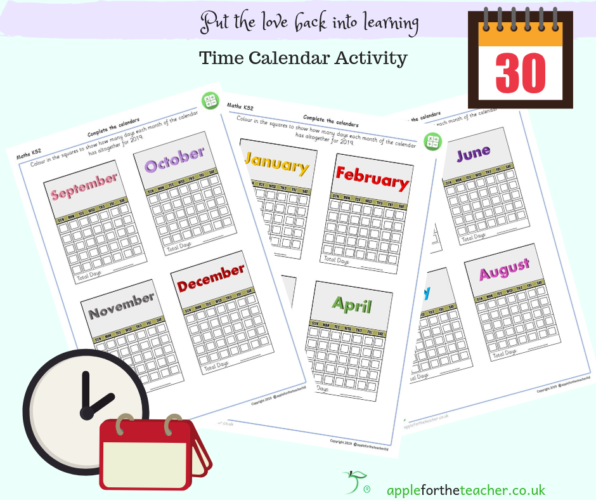 Time Calendar Activity