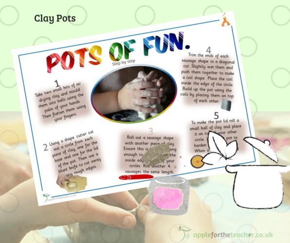 Pots of Fun Clay Activity