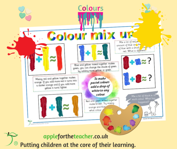 Colour Mix Up Activity