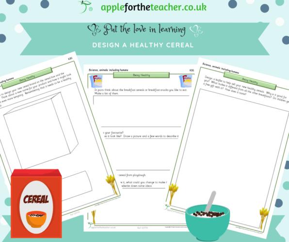 Design A Healthy Cereal | Ks1