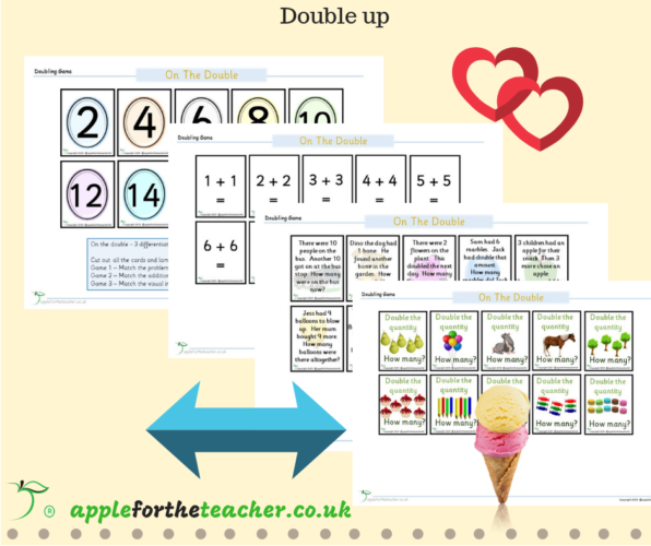 Doubling Game Differentiated