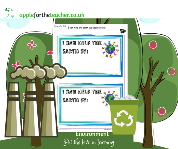 Environment Help The Earth Cards
