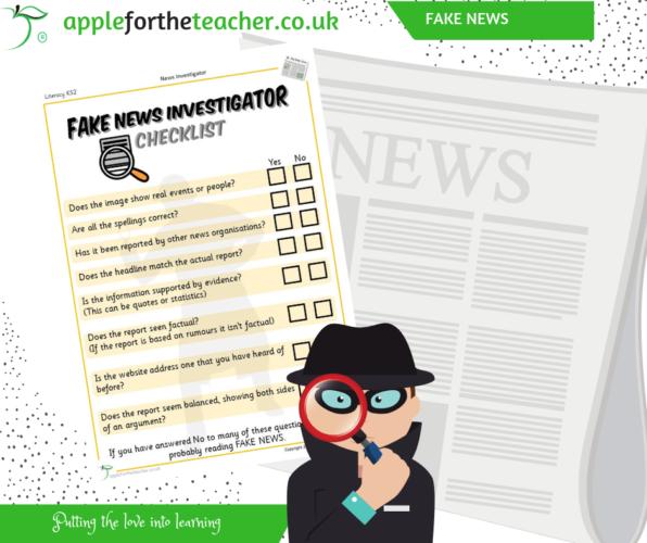 Fake News Activity Checklist