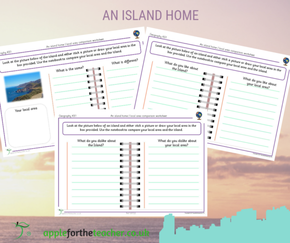 An Island Home Local Area Comparison Worksheet