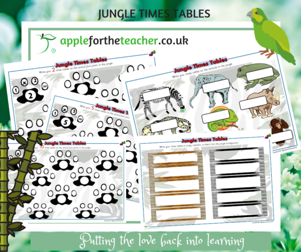 Jungle Times Tables
