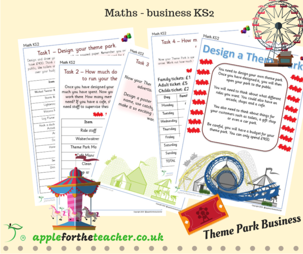 Maths Business Theme Park KS2