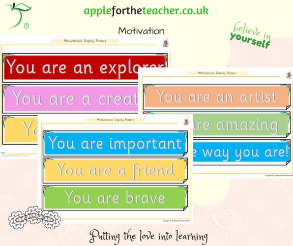 Motivational Display Sentences