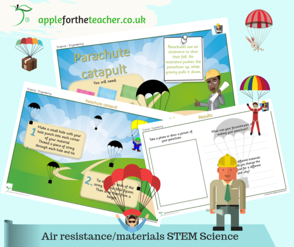 Parachute Science STEM Activity