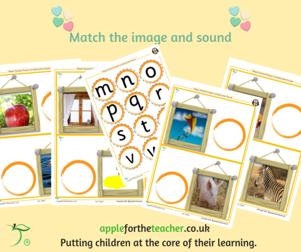 Picture to Initial Sound Match Activity SEN
