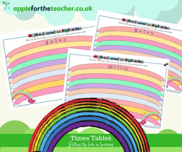 Rainbow Times Tables