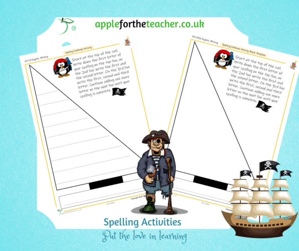 Sailboat Spelling Activity