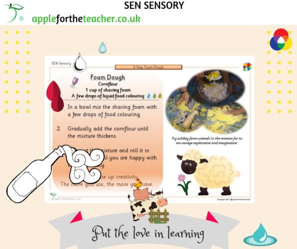 SEN Sensory Foam Dough