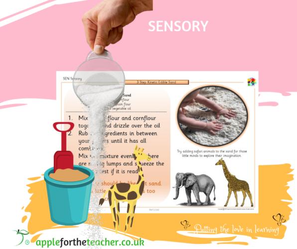 SEN Sensory Kinetic Edible Sand