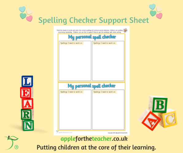 Spelling Checker Support