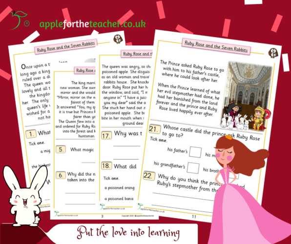 Story Ruby Rose Middle Comprehension