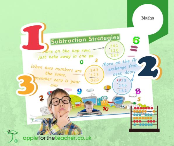 Subtraction Strategies Poster