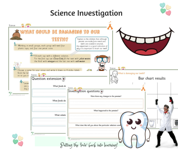 Teeth Investigation Science