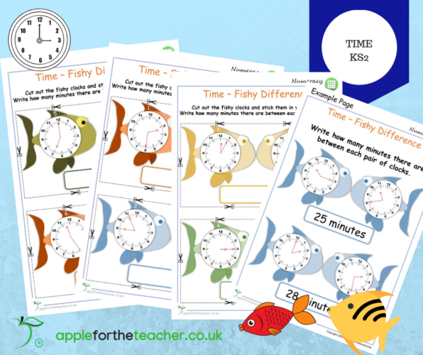 time finding the difference ks2 apple for the teacher ltd. Black Bedroom Furniture Sets. Home Design Ideas